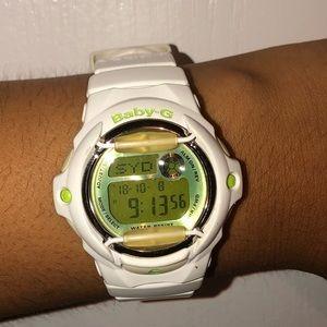 White Baby-G G-Shock watch
